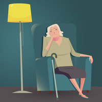Treatment-resistant depression in the elderly